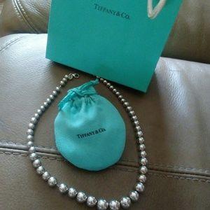Tiffany & Co Like new Beaded Necklace